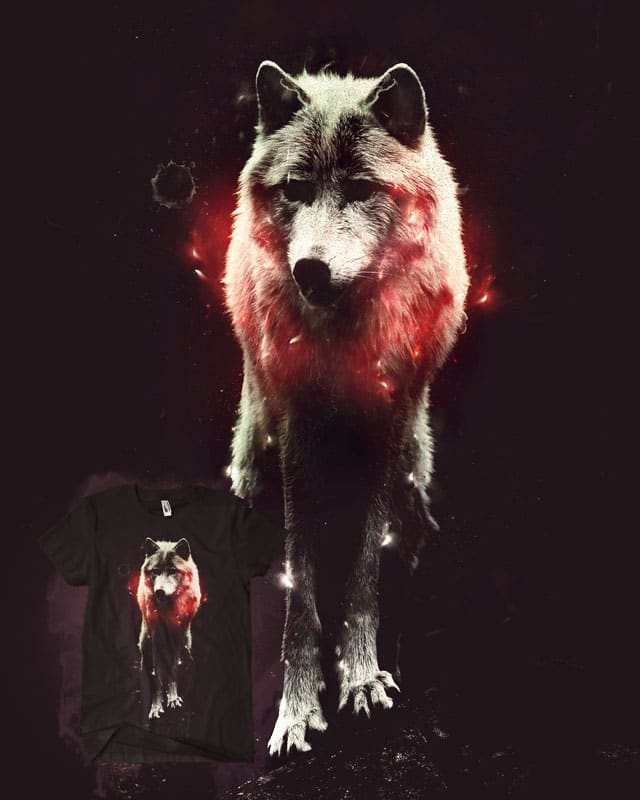 The Cosmic Wolf by andaur on Threadless