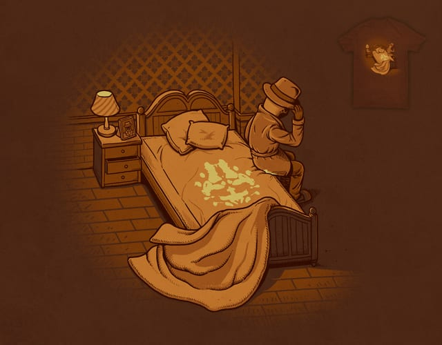 Bed Wetting Mark by ben chen on Threadless