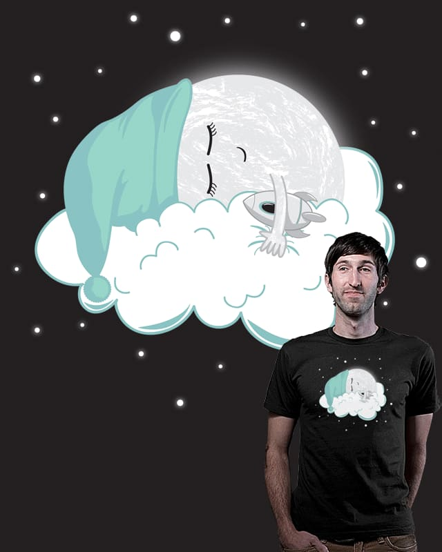 The Sleepy Side of The Moon by loorrrd on Threadless
