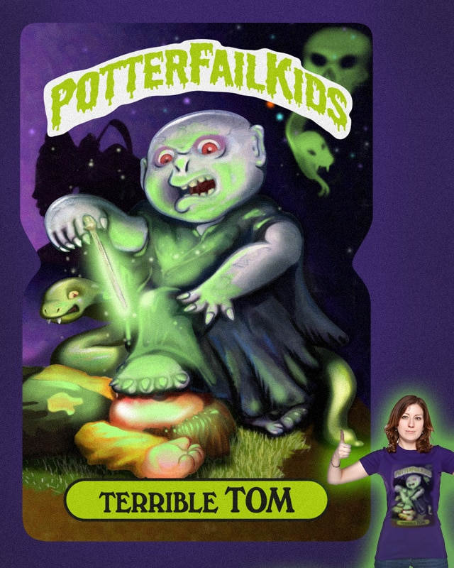 Terrible Tom by whirzle1 on Threadless