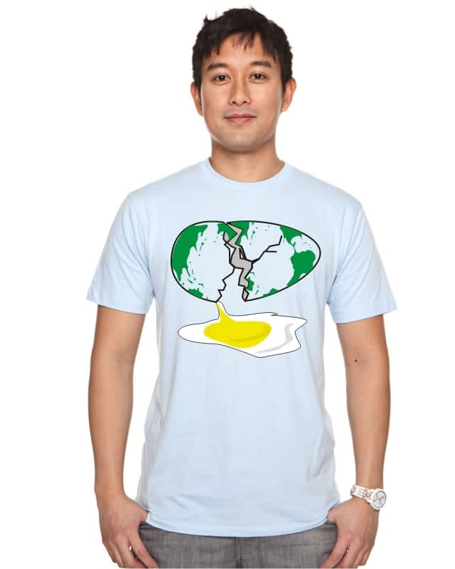 earth egg by soe on Threadless