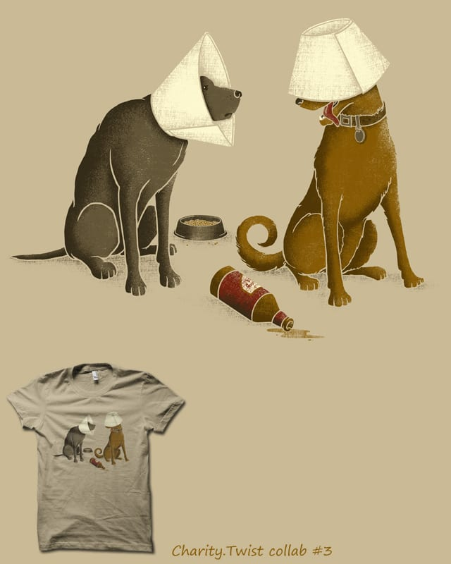 Drunk Dog by biotwist on Threadless