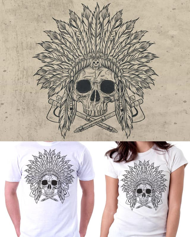 The Dead Chief by fathi on Threadless