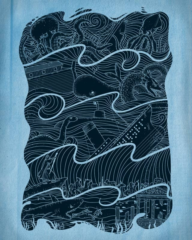 Once Upon The Sea by babitchun on Threadless