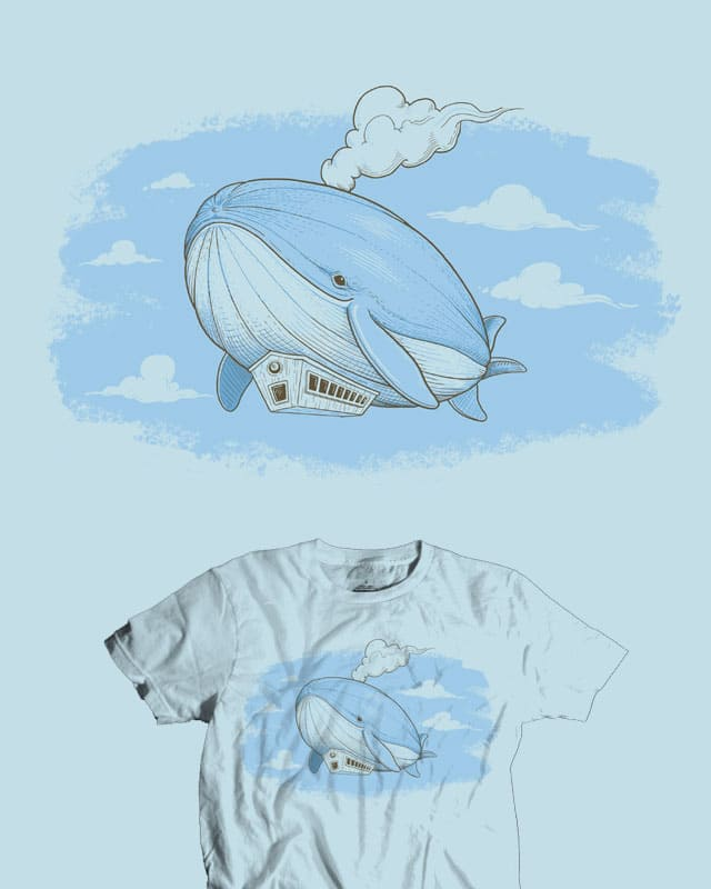 Dirigiwhale by jillustration on Threadless