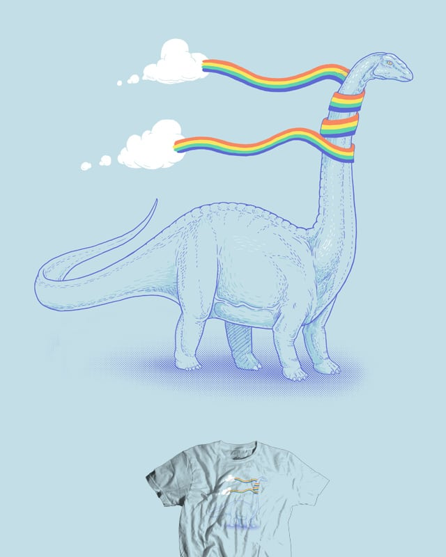 Rainbow Scarf by jillustration on Threadless