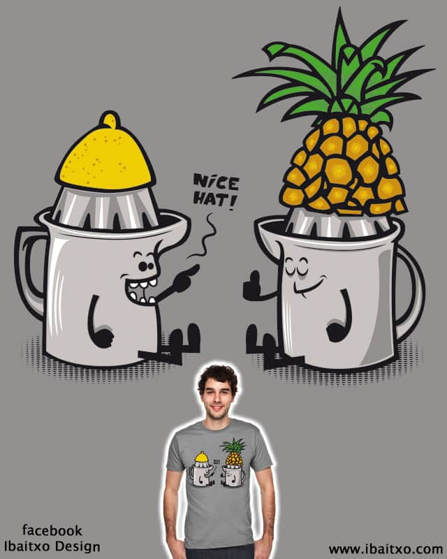 Nice hat! by ibaitxo on Threadless
