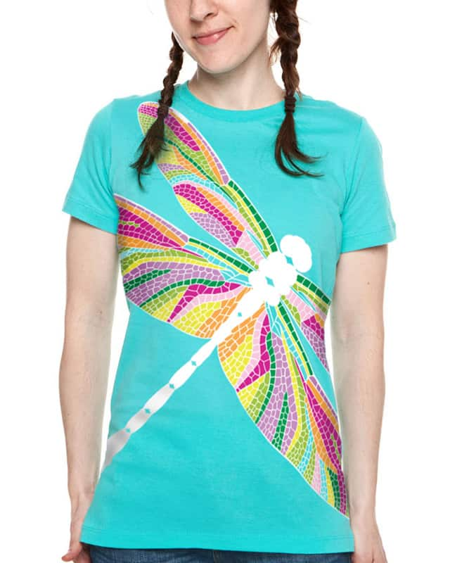 A Pretty Fly Dragonfly by laurenjung1 on Threadless