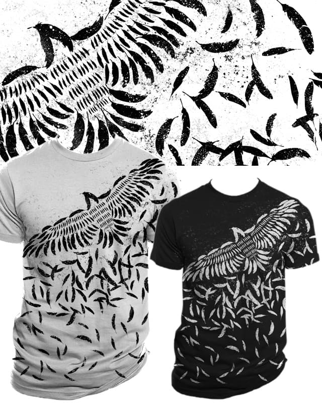 Of a feather by Resistance on Threadless