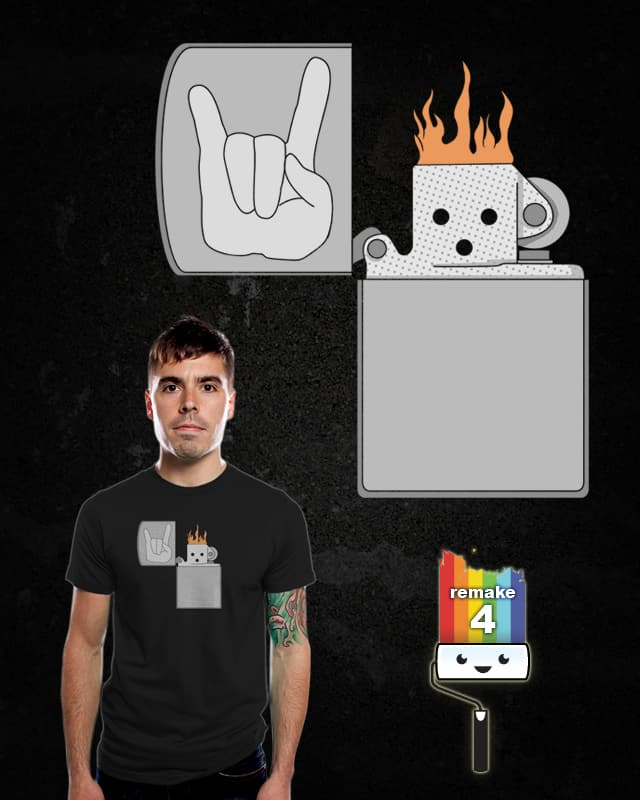 Flame Up by Resistance on Threadless