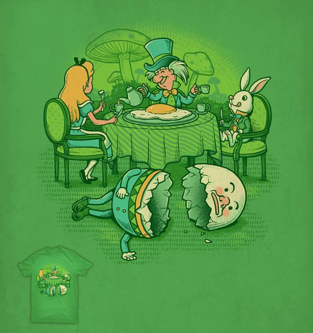 Sunny Side Up of the Afternoon Tea by ben chen on Threadless