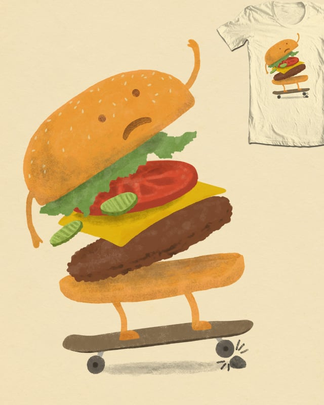 Burger Wipe-out