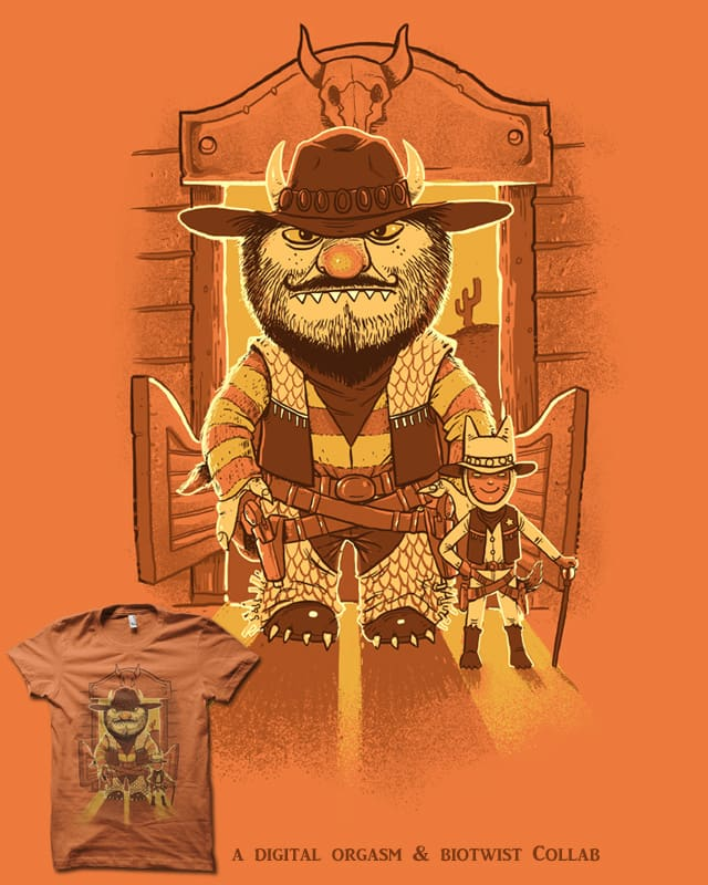 where the Wild West things are by biotwist on Threadless