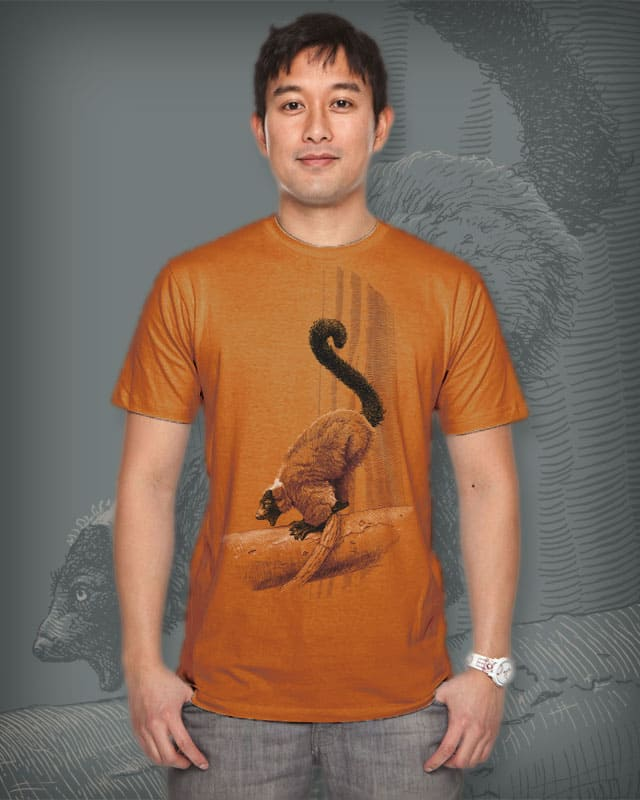 Screamin' Lemur by uglyducknyc on Threadless