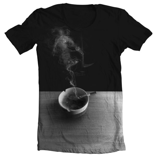 Last Smoke by ColdDegree on Threadless
