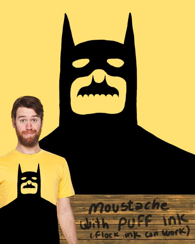 Natural Moustache by tobiasfonseca on Threadless