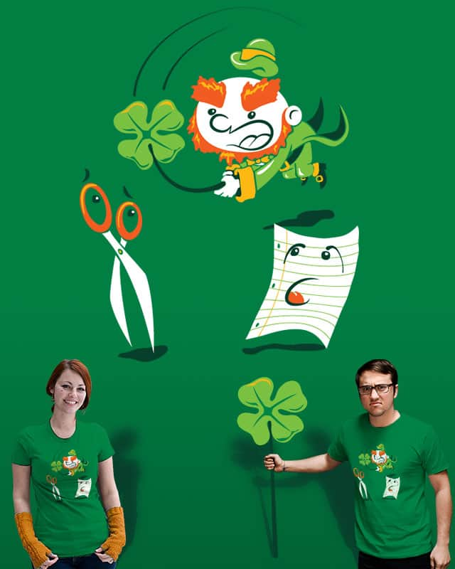 Shamrock, Paper, Scissors by Ian Leino on Threadless