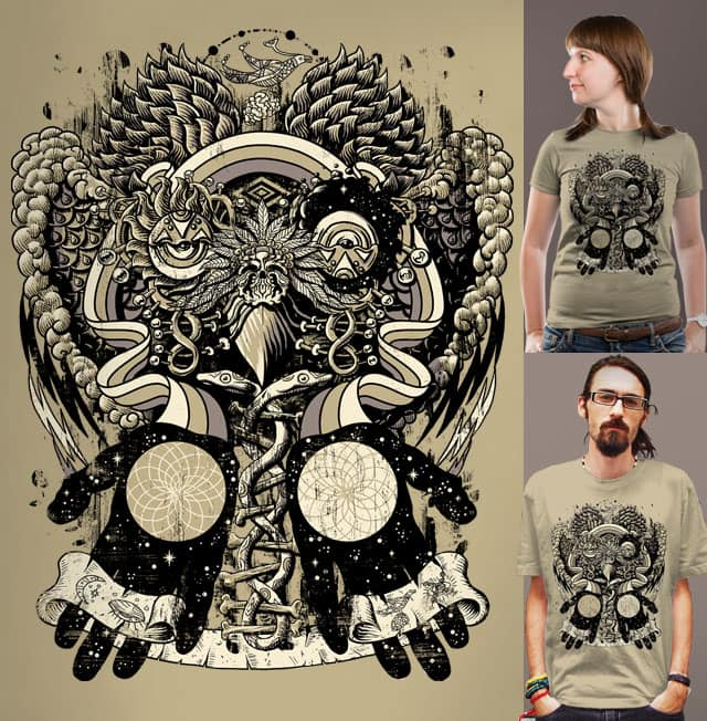 Dreams of a Feather by qetza on Threadless