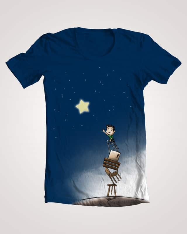 Reach for the Star by kristdreams on Threadless
