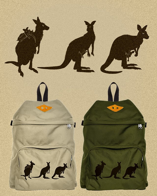 Backpack by kooky love on Threadless