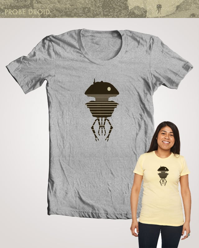 Probe Droid by LindseydeBeer on Threadless