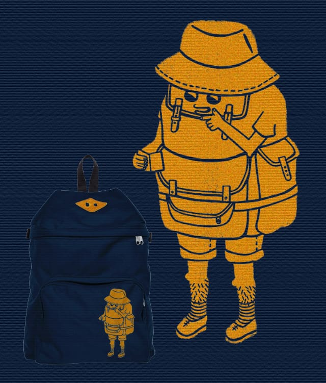 Backpacker by mirisch on Threadless