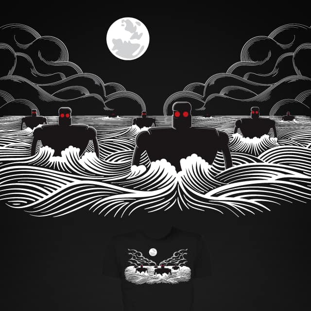 They came at night by Malhat06 on Threadless