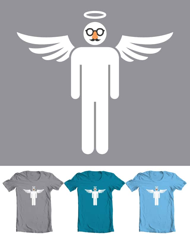 an angel in disguise by pap-iro on Threadless