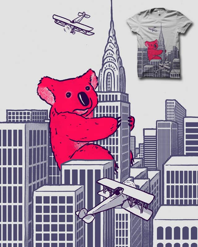 Giant Koala PencilPal Attack by biotwist on Threadless