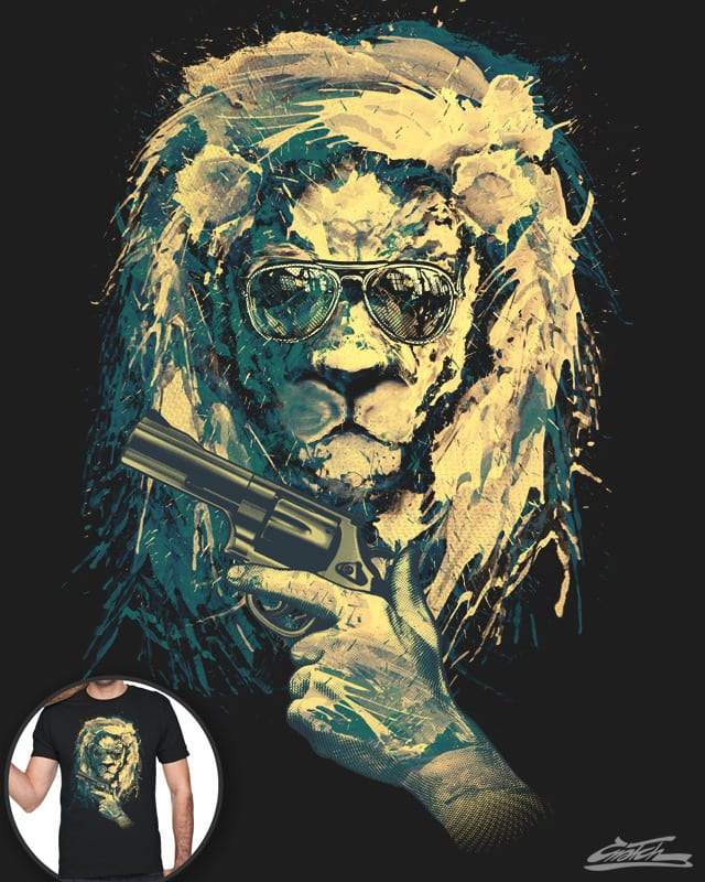 Lion Always Cool (V.2) by Cnatch on Threadless