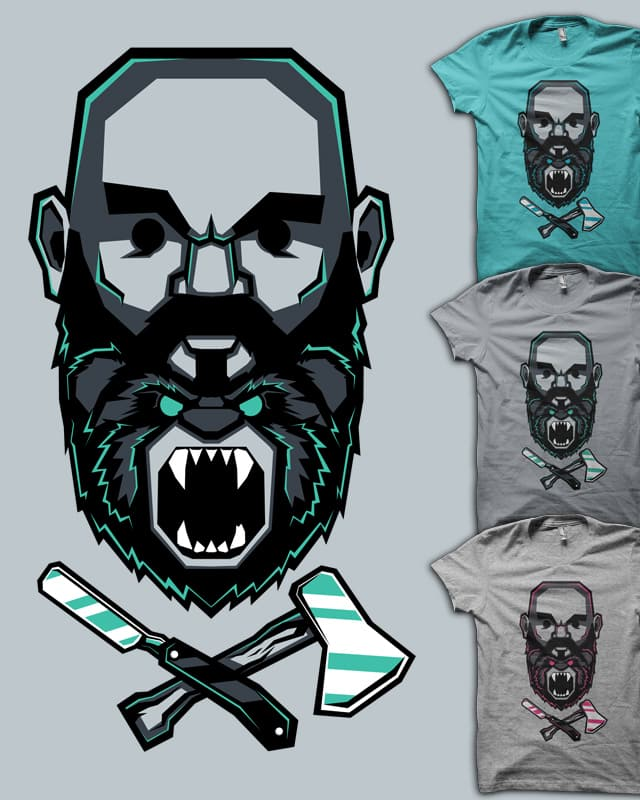 Wild BEARd by MEKAZOO on Threadless