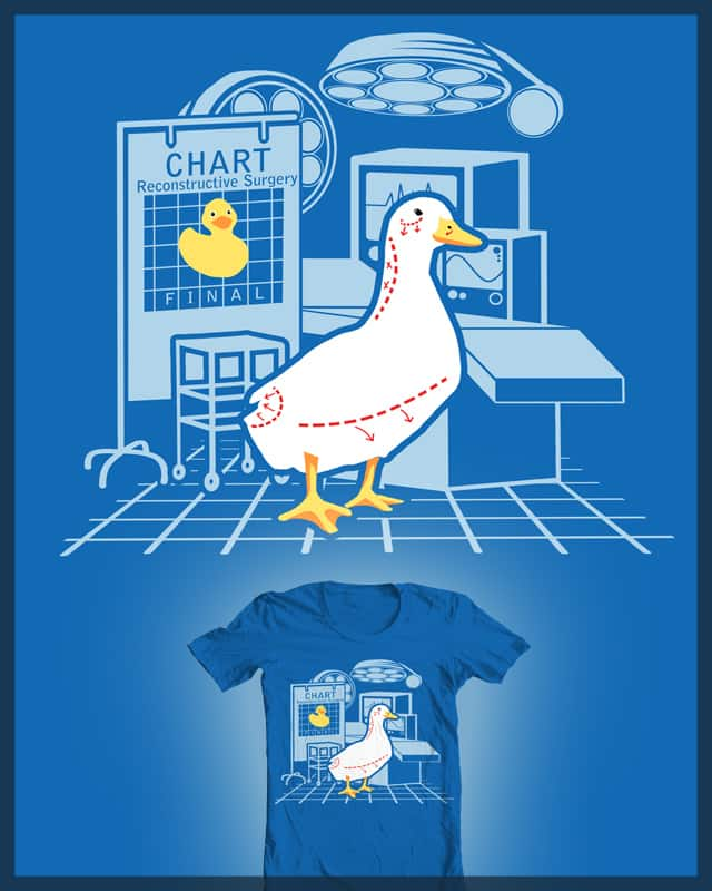 Reconstructive Duckie by markbelan on Threadless