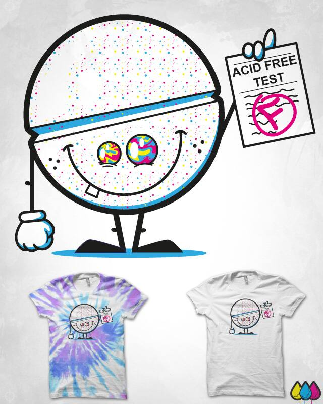 ACID FREE by S-3 on Threadless