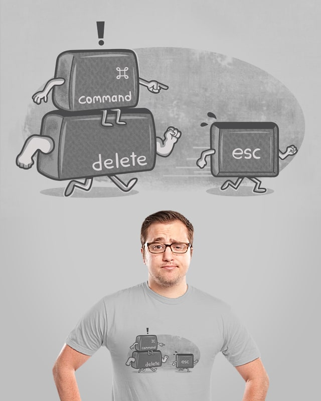 ESC by ibyes on Threadless