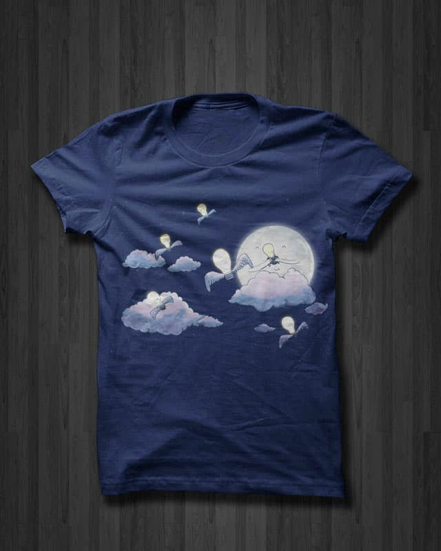 Light Up the Night by Calvin Wu on Threadless