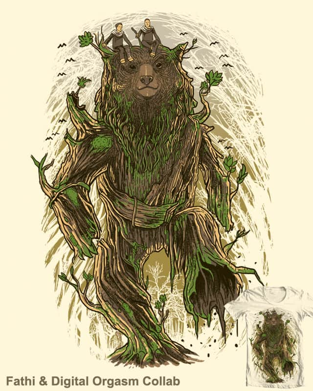 Treebear by fathi on Threadless