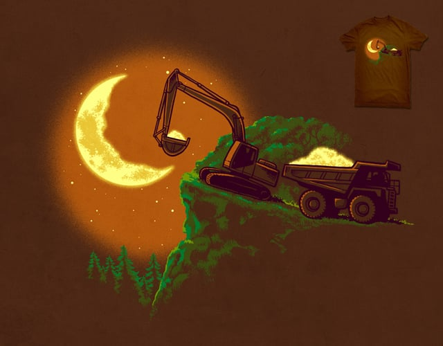 Stealing the Moonlight by ben chen on Threadless