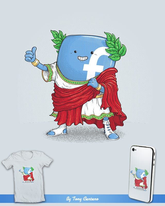 The Caesar and 42000 more Romans in the circus lik by Tony Centeno on Threadless