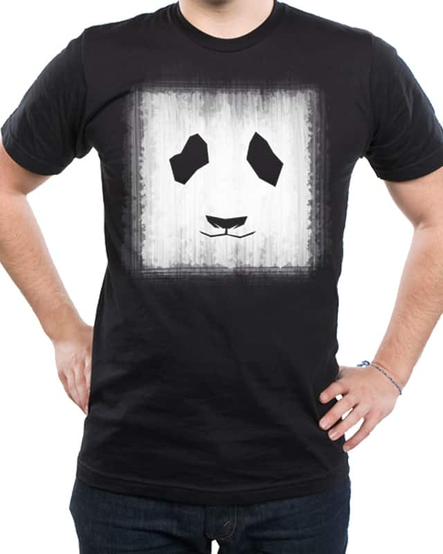 iPainted a Panda on my wall v1 by tontondrei on Threadless
