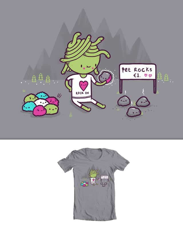 Pet Rocks by randyotter3000 on Threadless