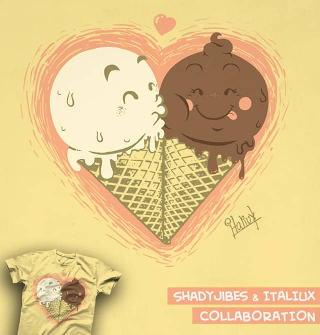 Love Knows No Flavor by italiux on Threadless