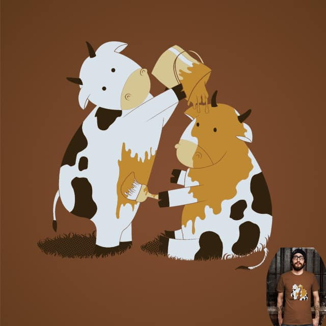 COWmouflage by dudeowl on Threadless