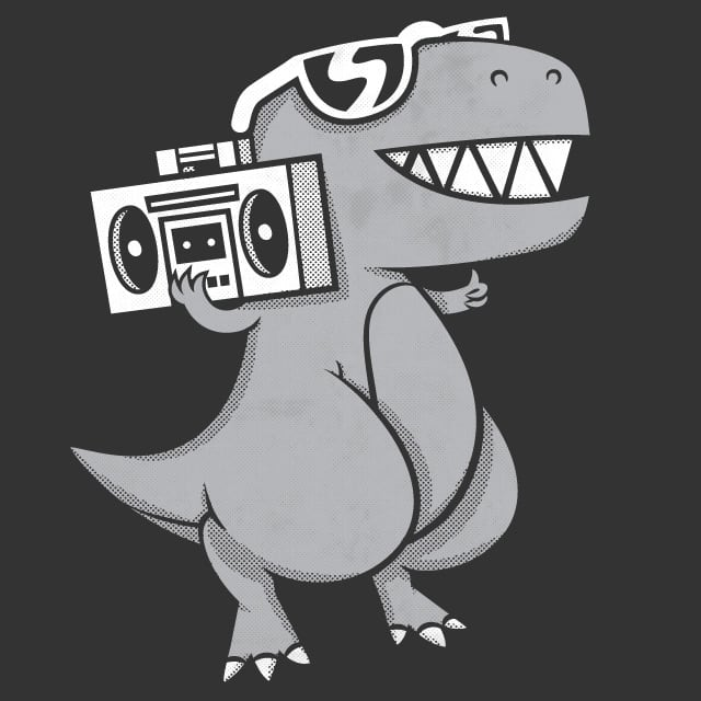 Dino-Mite! by pilihp on Threadless