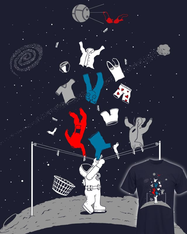 Laundry Day in Space by macdoodle on Threadless