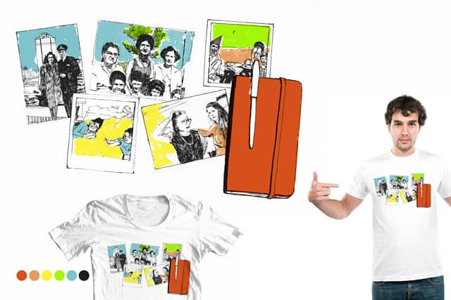 I draw from old snapshots by lauren berke on Threadless