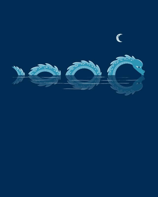 narcissistic nessie by i.e.a. on Threadless