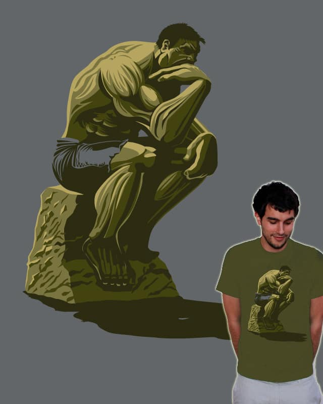 The Thinker by Trabe on Threadless