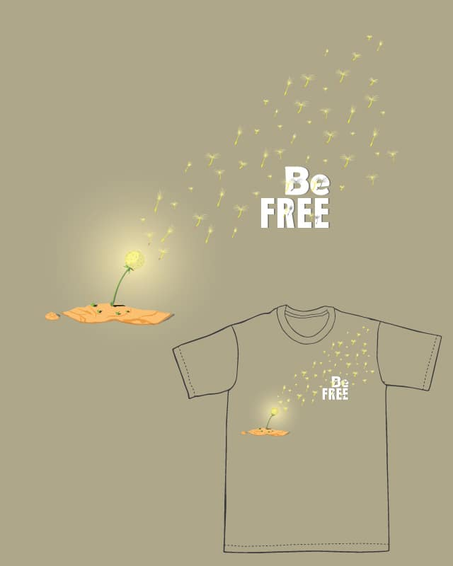 Be Free by payid90 on Threadless