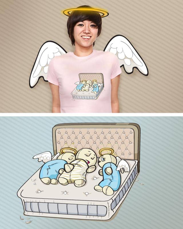 Sleep with angels by kretly on Threadless