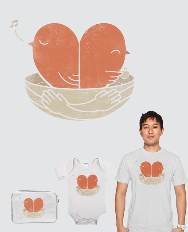 Our Love Nest by monkeypim on Threadless